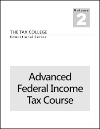 Advanced Federal Income Tax Course
